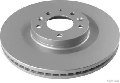 Вентилируемый тормозной диск на Мазда СХ9 'JAKOPARTS J3303089'.