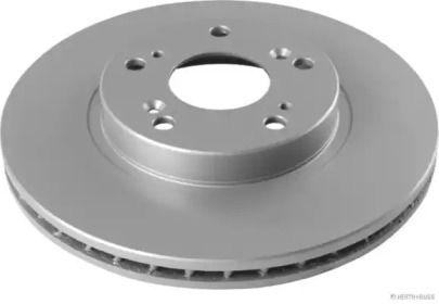 Вентилируемый тормозной диск на HONDA FR-V 'JAKOPARTS J3304003'.