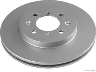 Вентилируемый тормозной диск 'JAKOPARTS J3304050'.