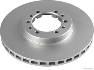 Вентилируемый тормозной диск на Митсубиси Паджеро 'JAKOPARTS J3305027'.