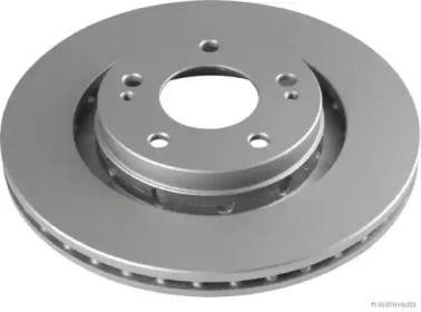 Вентилируемый тормозной диск на Митсубиси Аутлендер 'JAKOPARTS J3305063'.