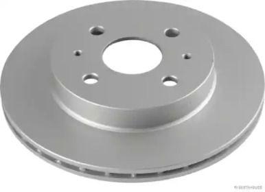 Вентилируемый тормозной диск 'JAKOPARTS J3306027'.