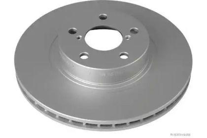 Вентилируемый тормозной диск на SUBARU IMPREZA 'JAKOPARTS J3307011'.