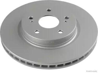 Вентилируемый тормозной диск 'JAKOPARTS J3308022'.