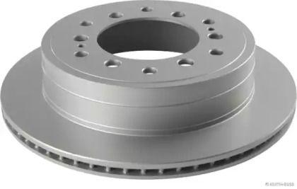 Вентилируемый тормозной диск на Тайота Ленд Крузер Прадо 'JAKOPARTS J3312041'.