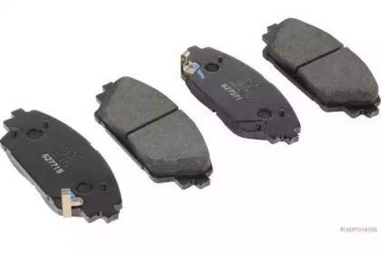 Гальмівні колодки на MAZDA CX-3 JAKOPARTS J3603072.