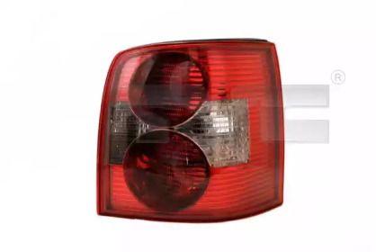 Задний левый фонарь на Фольксваген Пассат 'TYC 11-0210-01-2'.