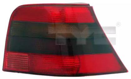 Задний правый фонарь на VOLKSWAGEN GOLF 'TYC 11-0253-01-2'.