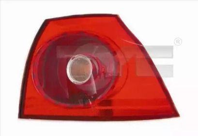 Задний правый фонарь на Фольксваген Гольф 'TYC 11-0399-01-2'.