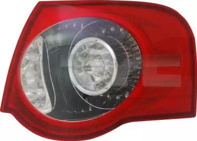 Задний правый фонарь на Фольксваген Пассат 'TYC 11-11867-00-2'.