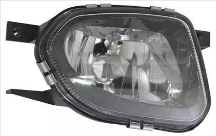 Права протитуманна фара на Mercedes-Benz W211 TYC 19-0449-11-9.