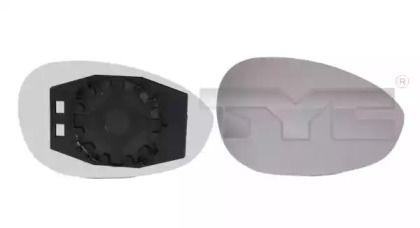 Ліве скло дзеркала заднього виду TYC 309-0064-1.