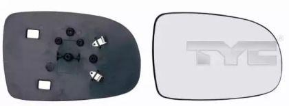 Ліве скло дзеркала заднього виду TYC 325-0026-1.