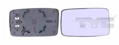 Праве скло дзеркала заднього виду TYC 337-0003-1.