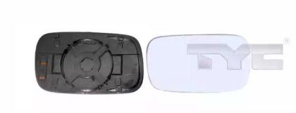 Ліве скло дзеркала заднього виду TYC 337-0032-1.