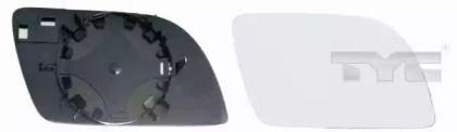 Праве скло дзеркала заднього виду TYC 337-0061-1.