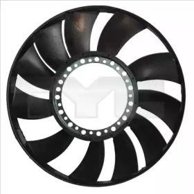 Крыльчатка вентилятора охлаждения двигателя на Фольксваген Пассат 'TYC 802-0055-2'.