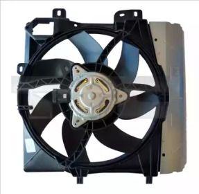 Вентилятор охлаждения радиатора на PEUGEOT 207 'TYC 805-0009'.