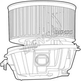 Вентилятор печки на CITROEN C3 'DENSO DEA07008'.