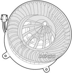 Вентилятор пічки на Мерседес W211 DENSO DEA17012.