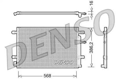 Радіатор кондиціонера DENSO DCN02018.