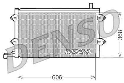 Радиатор кондиционера на VOLKSWAGEN GOLF DENSO DCN32003.