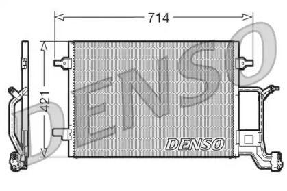 Радиатор кондиционера 'DENSO DCN32019'.