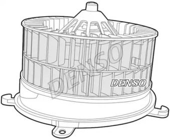 Вентилятор пічки на Мерседес W210 DENSO DEA17005.