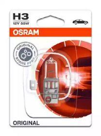 Лампа фары на Сеат Альтеа 'OSRAM 64151-01B'.