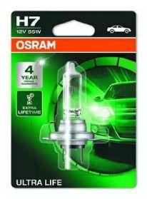 Лампа фари на Mercedes-Benz GLK  OSRAM 64210ULT-01B.