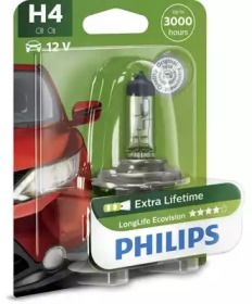 Лампа фари на Мазда РХ7 PHILIPS 12342LLECOB1.