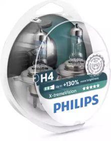 Лампа фары на ISUZU CAMPO 'PHILIPS 12342XV+S2'.