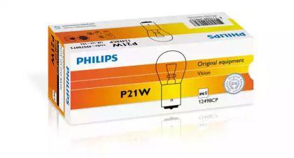 Лампа фары 'PHILIPS 12498CP'.