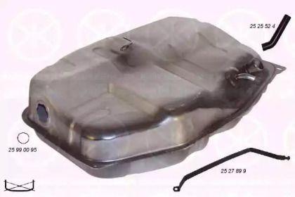 Топливный бак 'KLOKKERHOLM 2527008'.