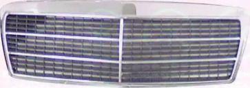 Решітка радіатора на Мерседес W210 KLOKKERHOLM 3527995.