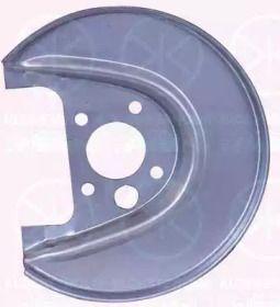 Защитный кожух тормозного диска на VOLKSWAGEN GOLF 'KLOKKERHOLM 9523878'.