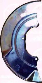 Защитный кожух тормозного диска KLOKKERHOLM 9558377.