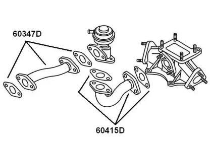 Патрубок вентиляції картера WAHLER 60347D малюнок 0