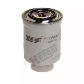 Паливний фільтр на MAZDA CX-5 HENGST H17WK07.