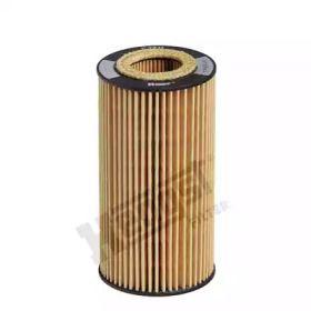 Масляний фільтр 'HENGST E27H D125'.