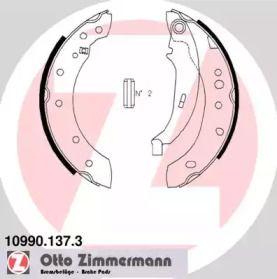 Гальмівні колодки ручника на MAZDA XEDOS 9 'OTTO ZIMMERMANN 10990.137.3'.