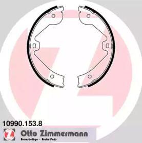 Гальмівні колодки ручника на Mercedes-Benz Gl-Class  OTTO ZIMMERMANN 10990.153.8.