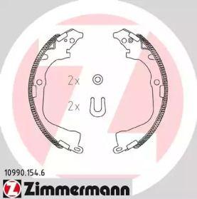 Барабанні гальмівні колодки OTTO ZIMMERMANN 10990.154.6.