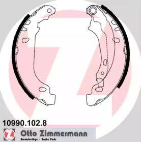 Барабанні гальмівні колодки OTTO ZIMMERMANN 10990.102.8.