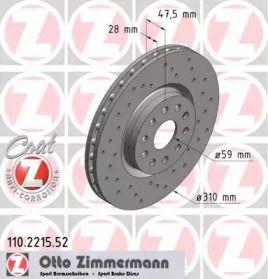OTTO ZIMMERMANN 110.2215.52