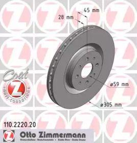 OTTO ZIMMERMANN 110.2220.20