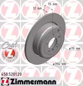 Гальмівний диск OTTO ZIMMERMANN 450.5201.20.