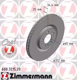 OTTO ZIMMERMANN 600.3215.20