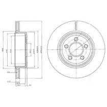 Вентилируемый тормозной диск на Крайслер 300С 'DELPHI BG4073'.