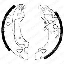 Барабанные тормозные колодки на FIAT BRAVO 'DELPHI LS1682'.